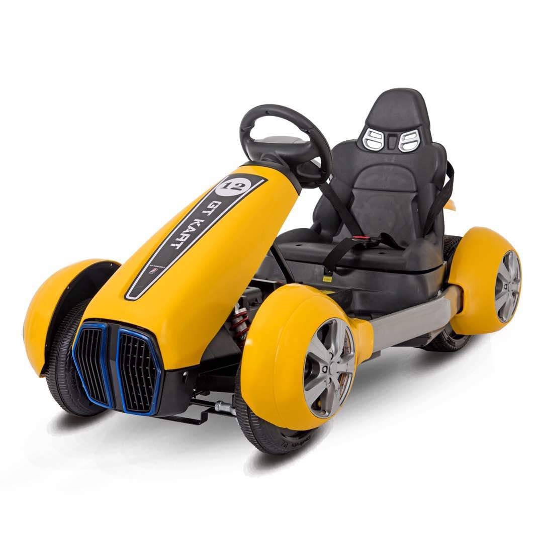 Kids 12v Electric Go Kart Racing Ride On Toy Car Buy Now