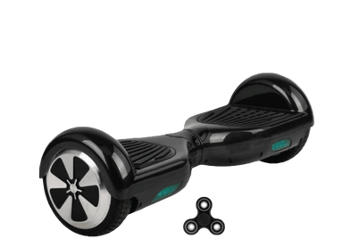 Black 6.5 Classic Hoverboard UK With Carry Bag & Fidget Spinner - SWEGWAYFUN