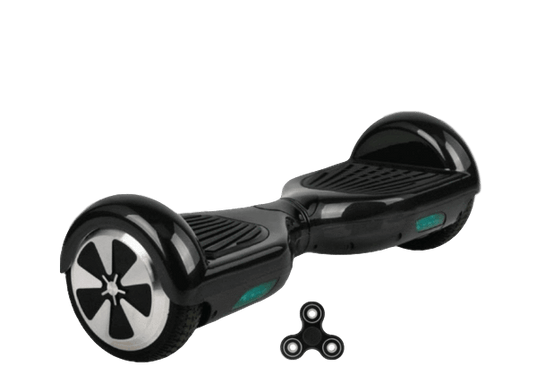 Black 6.5 Classic Hoverboard UK With Carry Bag & Fidget Spinner