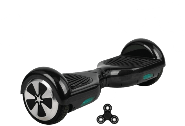 6.5 Inch Black Segway Hoverboard UK for Sale with Bluetooth Speaker