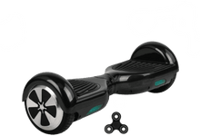 Load image into Gallery viewer, 2019 App Enabled 6.5 Inch Black Led Classic Hoverboard UK with Bluetooth Speaker - Segwayfun
