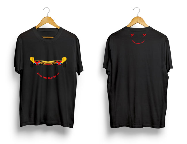 SWEGWAYFUN LIMITED EDITION SMILEY T-SHIRT - BLACK - SWEGWAYFUN
