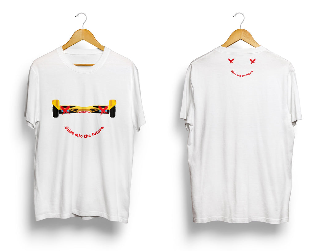 SWEGWAYFUN LIMITED EDITION SMILEY T-SHIRT - WHITE - Segwayfun