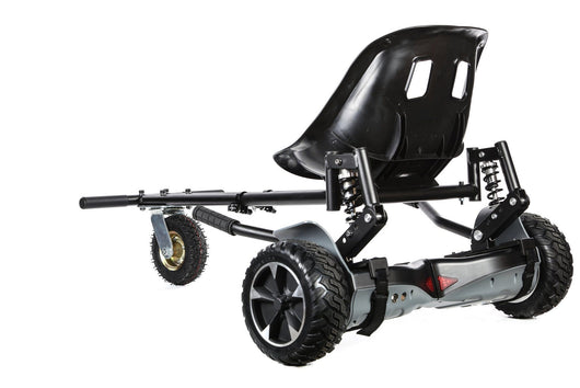 All Terrain Hummer Segway Hoverboard with Seat/kart Bundle