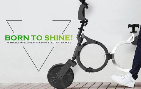 World Lightest & Fastest Electric Folding Bike Scooter Sale in UK - Glassbike with 30% Offer
