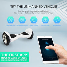 Load image into Gallery viewer, 2017 10 Inch Hiphop App Controlled Hoverboard ___ for Sale in UK with UL Certification + Fidget Spinner in 20% 2017 Black Friday Offer - Segwayfun