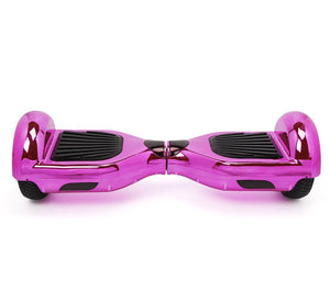 Pink Chrome Classic UL Certified Hoverboard 6.5 Inch Wheel with Samsung Battery - Segwayfun