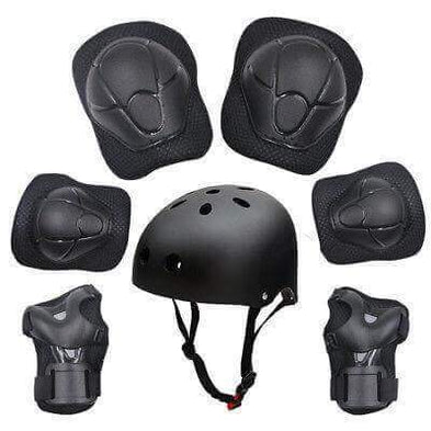 7pcsKids Protective Swegway Gear Safety Helmet Children Knee Elbow Pad Set - Segwayfun