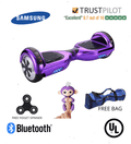 2020 APP ENABLED Purple Hoverboard - Bluetooth Speaker - SWEGWAYFUN