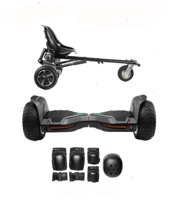 2020 All Terrain Black Warrior - G2 Hoverboard Hoverkart Bundle - SWEGWAYFUN
