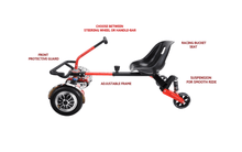 Load image into Gallery viewer, 2019 Racer Hoverkart - Hoverboard Go Kart Attachment - Segwayfun