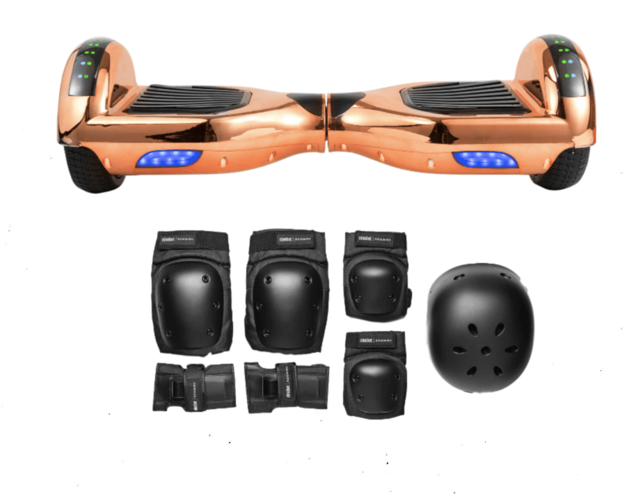 2018 APP ENABLED Chrome Rose Gold Limited Edition Hoverboard - 35% Xmas sale - Segwayfun