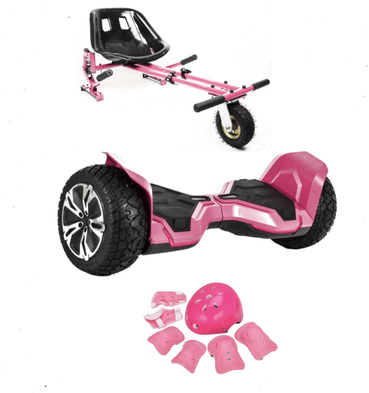 2019 Limited Edition Updated All Terrain PINK Warrior - G2 Hoverboard Hoverkart Bundle Deals - Segwayfun