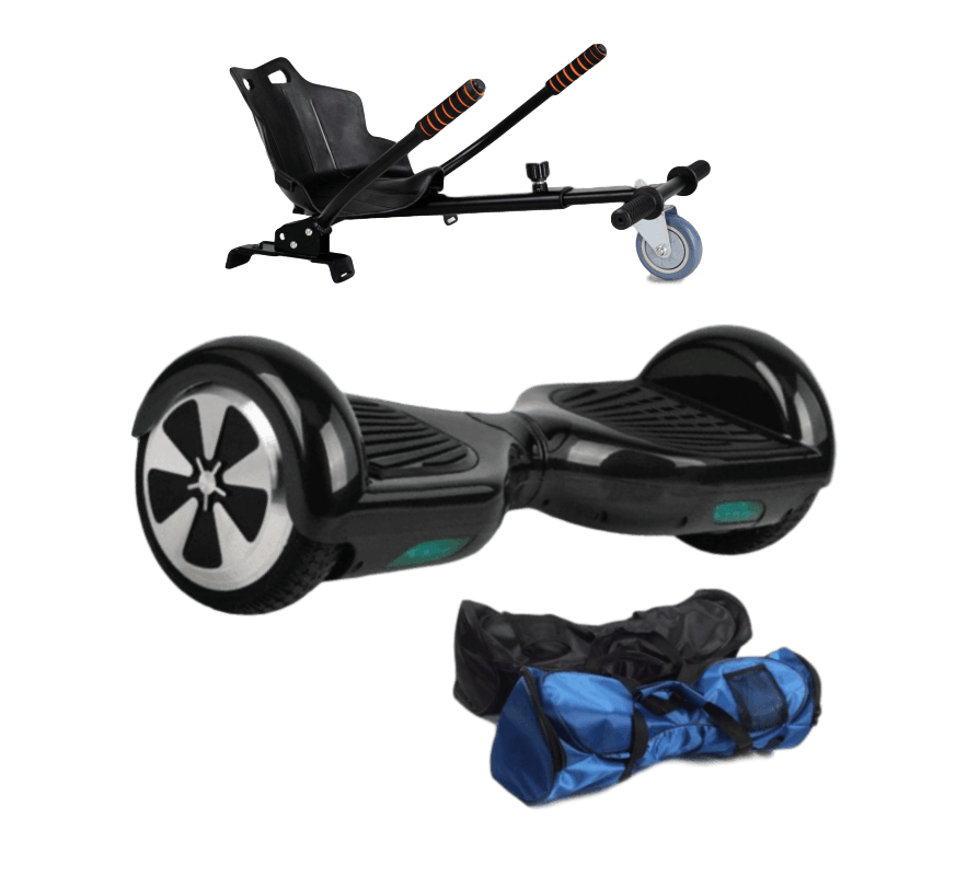 6.5 Hoverkart + Black classic Hoverboard - 30% sale Offer - Segwayfun