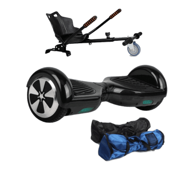 6.5Black classic Hoverboard + Hoverkart Bundle - 30% sale Offer - Segwayfun
