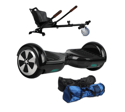 6.5 Hoverkart + Black classic Hoverboard - 30% sale Offer