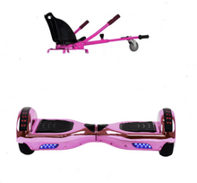 Load image into Gallery viewer, 2019 SUPER MARIO PRINCESS PEACH -  6.5 Pink classic Swegway Hoverboard + Pink  Hoverkart Bundle Deal - Segwayfun