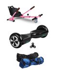6.5  Black classic Hoverboard + Hoverkart Bundle - 30% sale Offer - Segwayfun