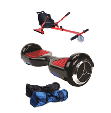 Load image into Gallery viewer, 6.5  Black classic Hoverboard + Hoverkart Bundle - 30% sale Offer - Segwayfun