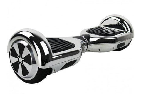 Silver Classic Segway Chrome Hoverboard for Sale with Samsung Battery, UK Charger + FIDGET SPINNER