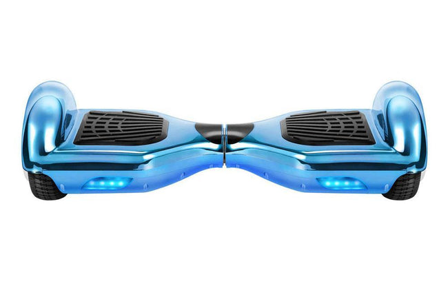 Chrome Blue Gold Limited Edition 6.5 Inch Swegway Hoverboard for Sale - SWEGWAYFUN