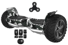 Load image into Gallery viewer, 2018 APP ENABLED Hummer All Terrain Extreme Hoverboard + Protective Set - Segwayfun
