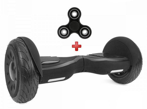 2017 10 Inch Black App Controlled Self Balancing Hoverboard Segway for Sale in UK with UL Certification + Fidget Spinner in 20% Offer - Segwayfun