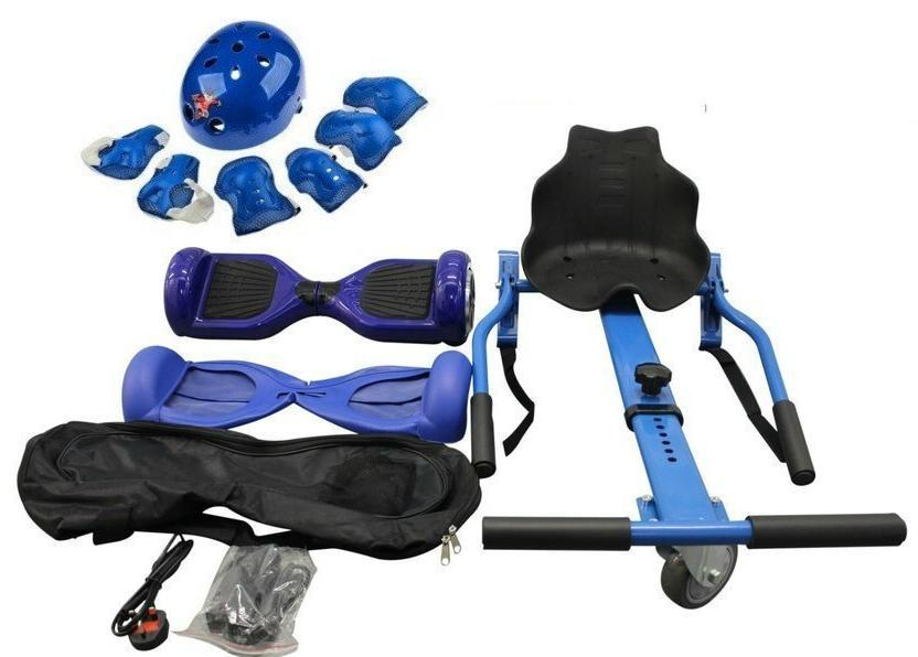 EXCLUSIVE OFFER    Blue classic Swegway Hoverkart Bundle   Segwayfun
