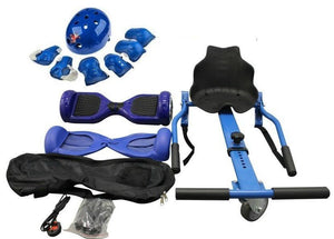 6.5 Inch Blue Classic Swegway and Hoverkart Seat with 35% sale Offer 2019 - Segwayfun