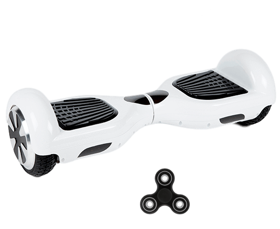 6.5 Inch Classic White Hoverboard with 1 Year UK Warranty - 30% Sale Offer - Segwayfun