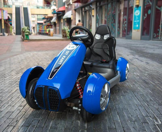 2019  Kids Electric GOkart Racing Ride On Toy Car - SPEED RACER - Segwayfun