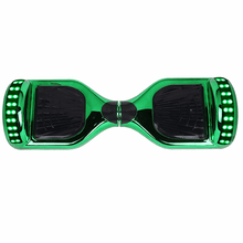 2018 App Enabled Chrome Green Classic Disco 6.5 Inch Hoverboard  - 30% Xmas sale - Segwayfun