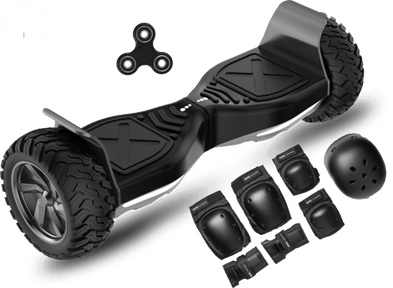 2020 APP ENABLED Hummer All Terrain Extreme Hoverboard + Protective Set - Segwayfun
