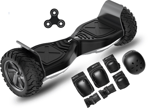 2018 APP ENABLED Hummer All Terrain Extreme Hoverboard + Protective Set - Segwayfun