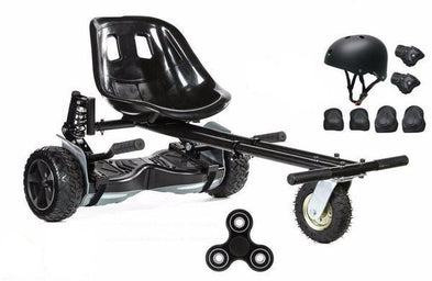 2020 Hummer Black Hoverboard ,Hoverkart Bundle with App Control - Segwayfun
