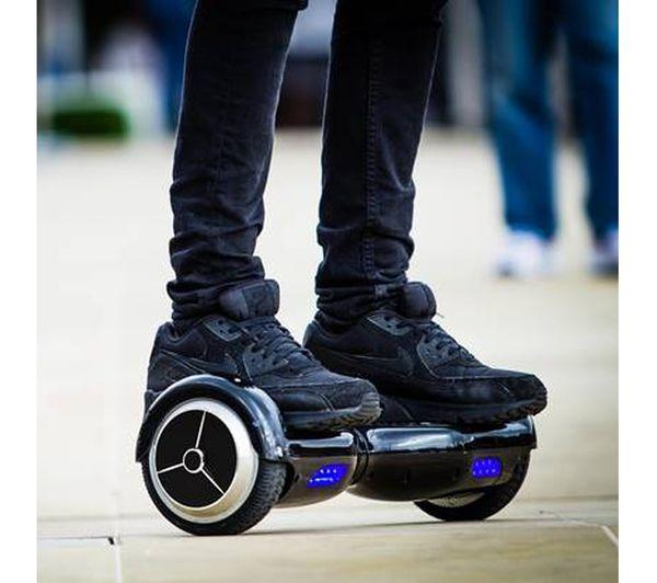 Mekotron Black Hoverboard with Bluetooth & Self Balancing Feature - Segwayfun