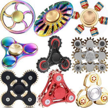 Load image into Gallery viewer, Metal Fidget Spinner - Must Have For EDC Stress Relief ADHD - Segwayfun