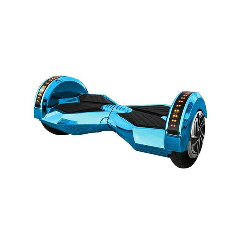 CHROME BLUE SWEGWAY HOVERBOARD LAMBO EDITION BLUETOOTH 8