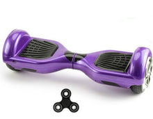 Load image into Gallery viewer, Purple Hoverboard UK for Sale with Bluetooth Speaker + FIDGET SPINNER - Segwayfun