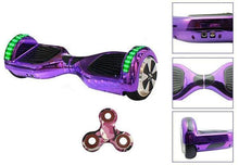 2018 APP ENABLED Purple Chrome Hoverboard - Bluetooth Speaker with 35% Xmas sale Offer - Segwayfun