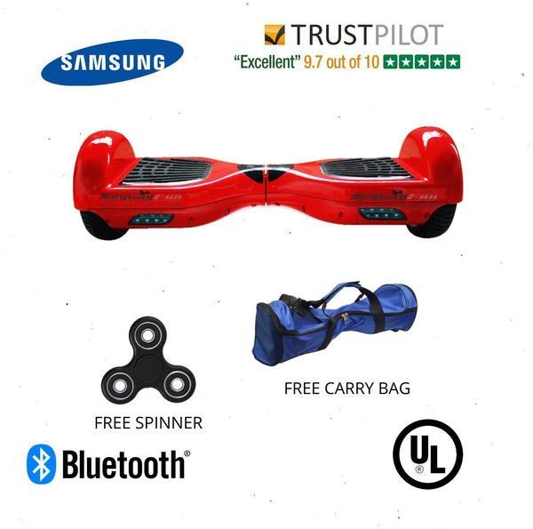 Red Segway Hoverboard for Sale , Classic 6.5 Inch Segway with Samsung Battery - Segwayfun