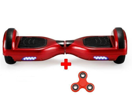 Classic 6.5 Inch Red Segway Bluetooth Hoverboard + Fidget Spinner + Free Bag - Segwayfun