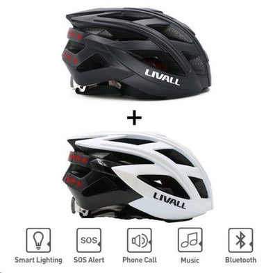 Livall BH60SE Bluetooth Enabled Smart Unisex Bike Bicycle Cycling Helmet - SWEGWAYFUN