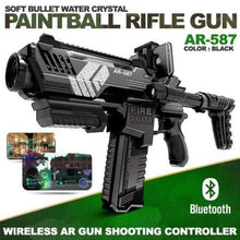 Load image into Gallery viewer, 2019 - Bluetooth Enabled AR Soft Bullets Water Crystal Paintball Gun Rifle Toy - Segwayfun