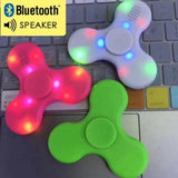 Latest  Fidget Spinner with Led & Bluetooth Speaker- Must Have For EDC Stress Relief ADHD FASTEST AND LONGER SPINNING segwayfun