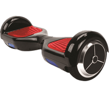 Load image into Gallery viewer, CURRY'S ICONBIT Mekotron Black Hoverboard with Bluetooth & Self Balancing App - Segwayfun