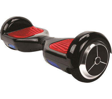Mekotron Black Hoverboard with Bluetooth & Self Balancing Feature - SWEGWAYFUN