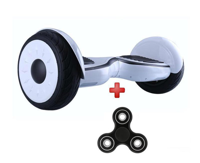 10 Inch White App Controlled Self Balancing Hummer Hoverboard for Sale in UK with UL Certification - SWEGWAYFUN