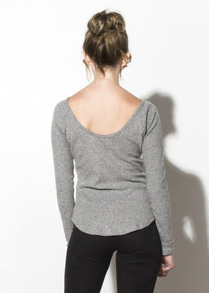 Supersoft Brushed Rib Top