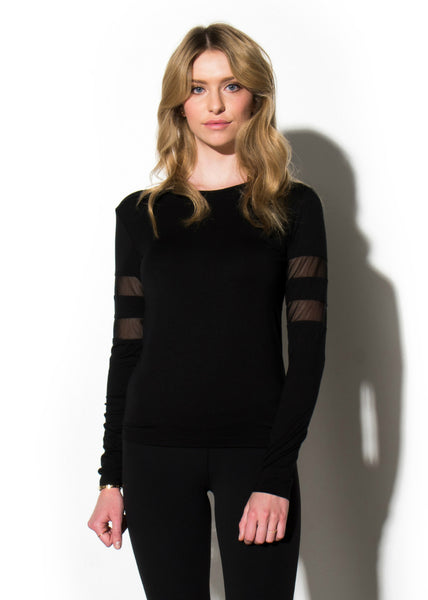 Sporty-Chic Long Sleeve